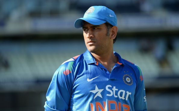 We could see the end of Dhoni's India career next year