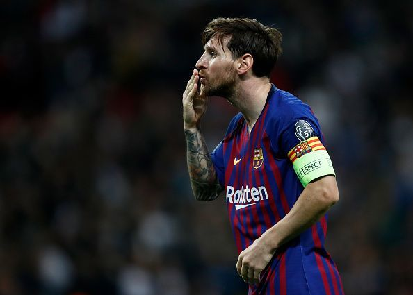 6027cb07b Twitter reacts as Lionel Messi tormented Spurs with phenomenal ...