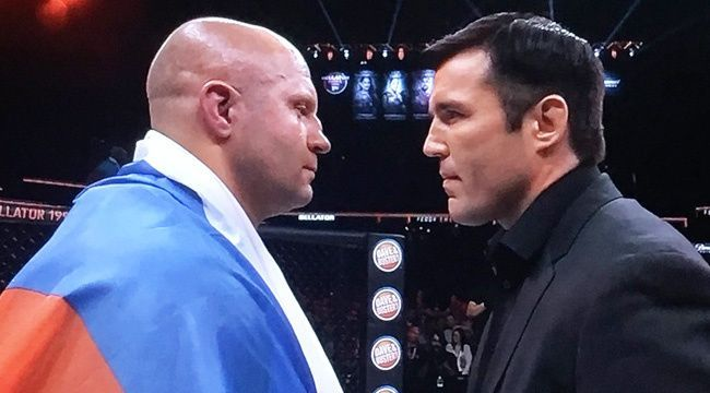 Chael Sonnen faces off with Fedor Emelianenko this weekend