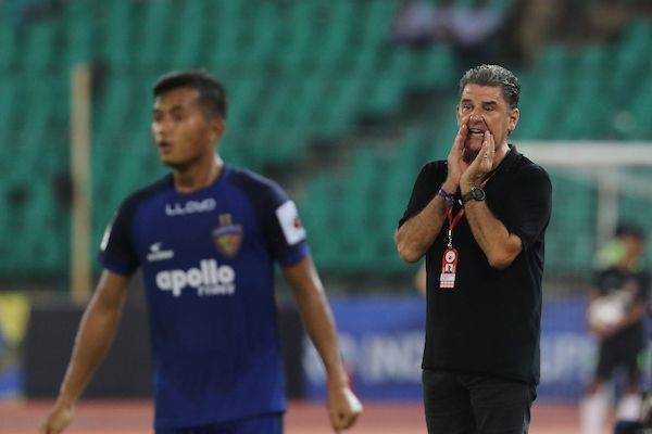 Another winless game for Gregory and his men (Image Courtesy: ISL)