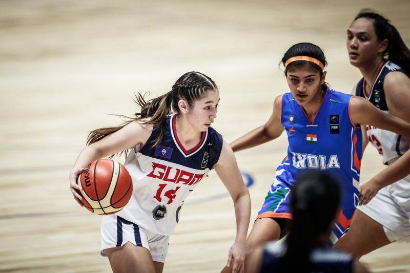 Elysia Perez of Guam scored 12 points for Guam (Image Courtesy: FIBA)
