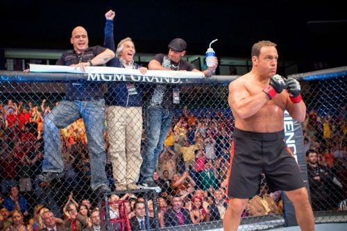 MMA Pioneer Bas Rutten alongside Kevin James in 'Here Comes The Boom' (2012)