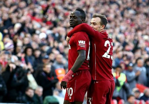 Sadio Mane has been brilliant for the Reds