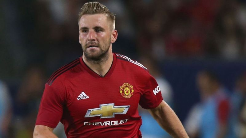 Luke Shaw has been United
