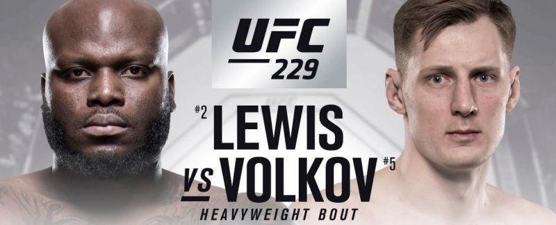 Image result for Derrick Lewis vs. Alexander Volkov