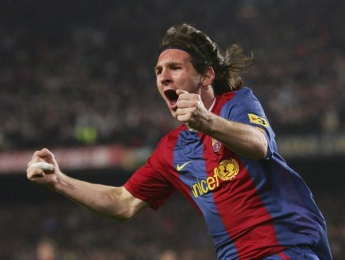 Messi's first hat-trick saved Barcelona: 2007