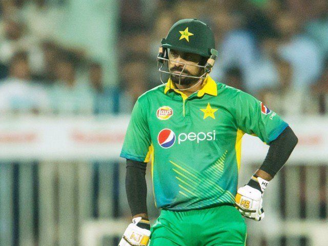 M Hafeez struck 5 sixes in the series