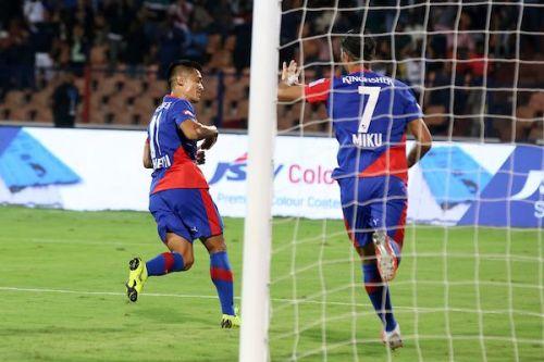Bengaluru FC's Sunil Chhetri and Miku have scored a goal each [Image: ISL]