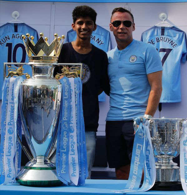 Manchester City fans in Mumbai had an afternoon to remember.