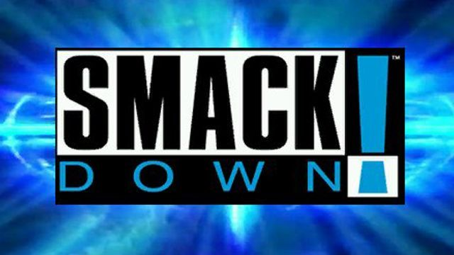 The initial logo of SmackDown!