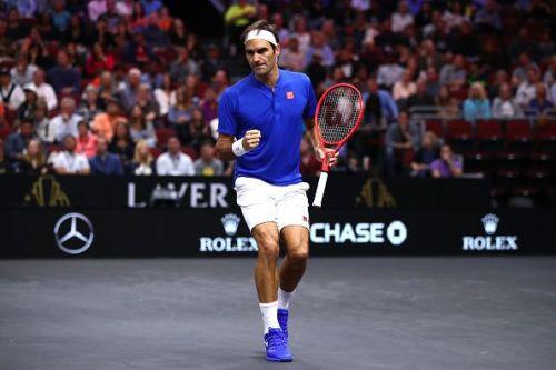 Roger Federer v John Isner