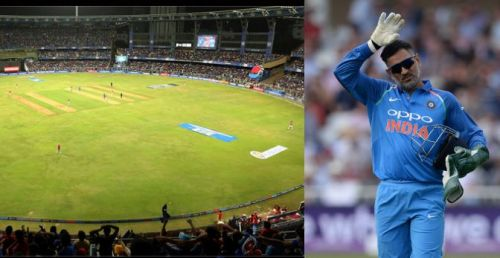 Dhoni in the headlines once again