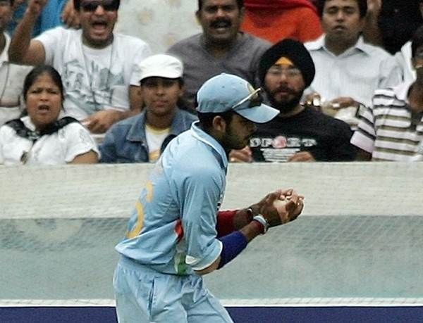 Sreesanth held his nerve to take the biggest catch of his cricketing career