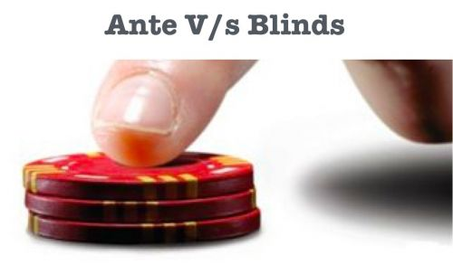 What's the difference between Ante and Blinds?