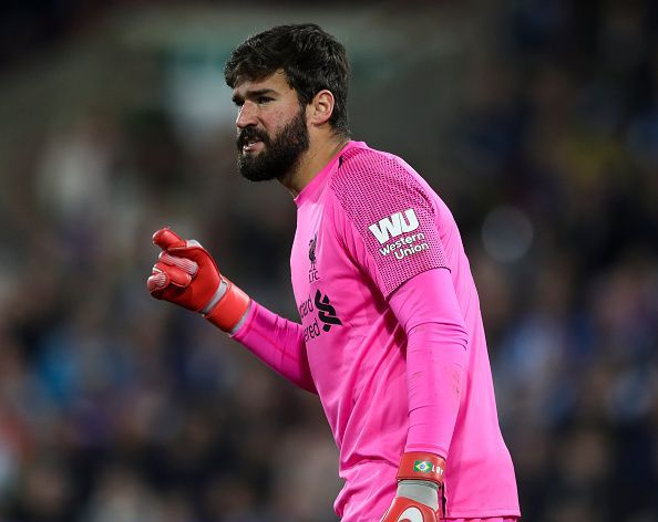 Liverpool paid Roma £66.8 million for Alisson this summer