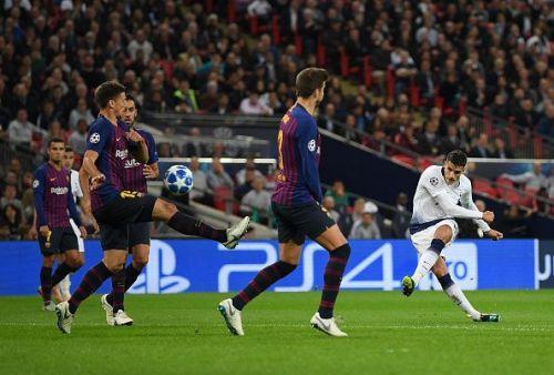 Tottenham Hotspur v FC Barcelona - UEFA Champions League