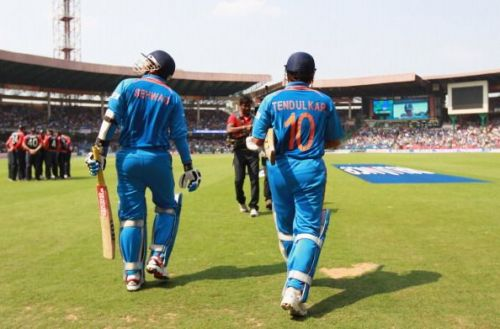 Sachin and Sehwag would be perfect to open the innings