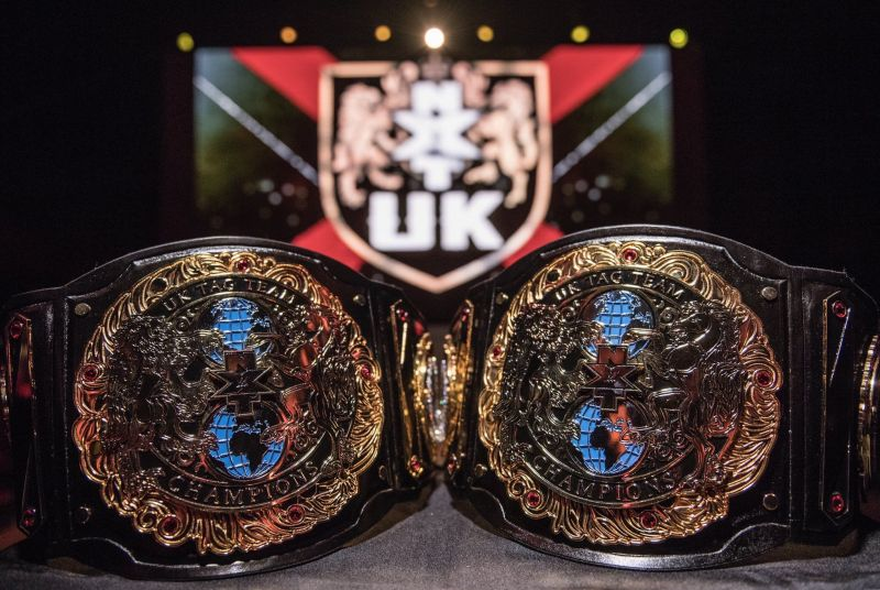 The new NXT UK Tag Team title belts look incredible!