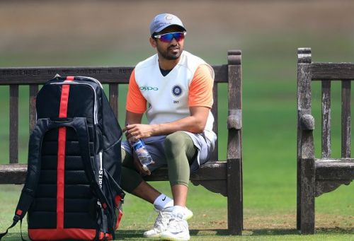 Karun Nair wasn't included in the Indian test squad for the two-match test series versus the Windies
