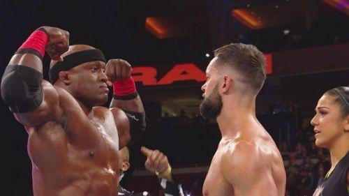 Bobby Lashley versus Finn Balor. Who wins?