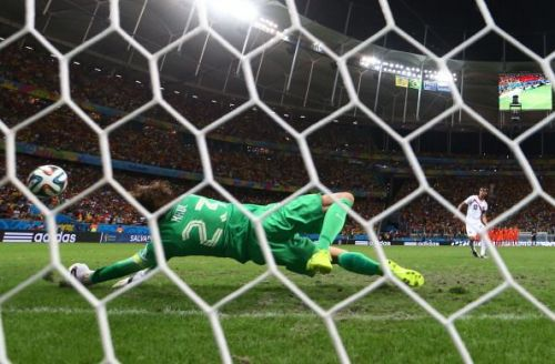 Tim Krul's penalty saves against Costa Rica will remain the lasting image for the Dutch from 2014
