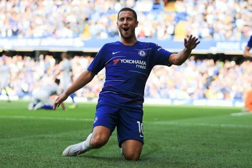 Eden Hazard is in a brilliant form this season