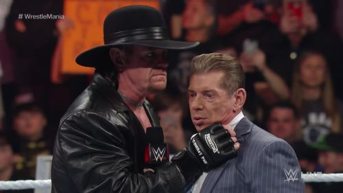 Undertaker was signed to WWE by Vince McMahon