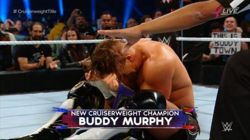 Buddy Murphy winning the Cruiserweight Title was a huge moment!