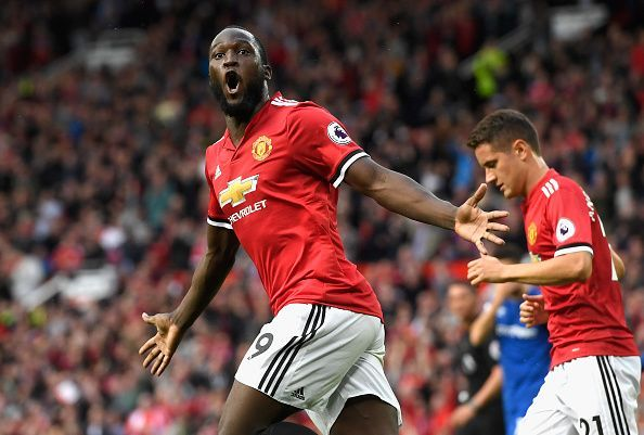 Romelu Lukaku now plays for Manchester United.