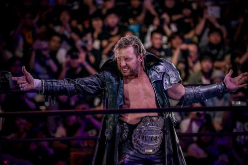 Kenny Omega is suffering from a fractured rib
