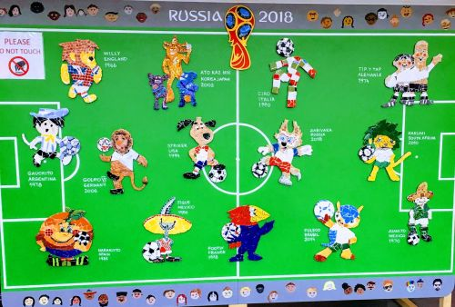 All the World Cup Official Mascots since 1966