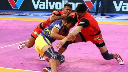 Ajay Thakur scored 20 points in the match but still ended up on the losing side.
