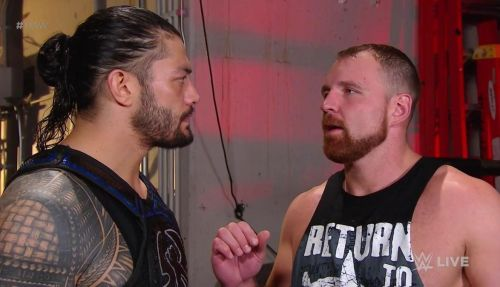 Roman Reigns and Seth Rollins seemed to have genuinely anger Dean Ambrose on this week's episode of Monday Night RAW