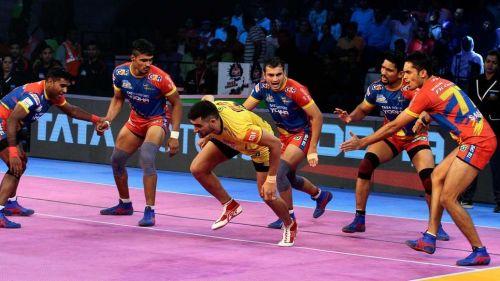 Rahul Chaudhari struggled tonight against the Warriors
