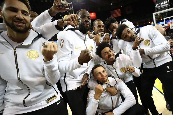 reputable site f08ae cc5a1 NBA 2018-19: Golden State Warriors vs Oklahoma City Thunder ...