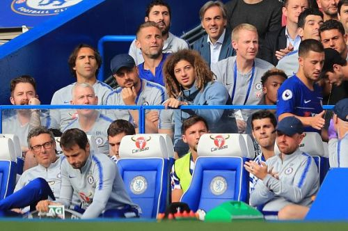 Ethan Ampadu and Callum Hudson-Odoi have seen Premier League action only from the stands this season.