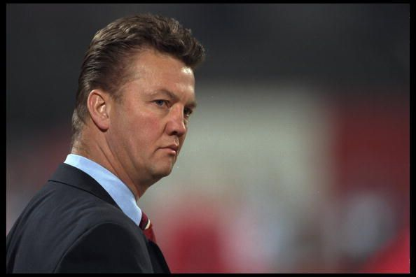 Louis Van Gaal used the 3-3-1-3 formation with a bunch of youngsters at Ajax
