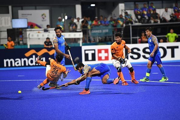 India failed to overcome Malaysia's dogged resistance