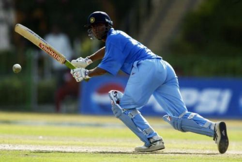 Mohammad Kaif of India on his way to a century