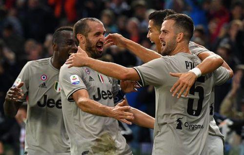 Juventus still boast of a 100% record