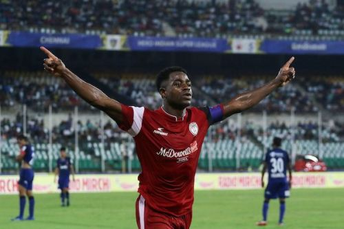Ogbeche scored the first hat-trick of the season [Image: ISL]