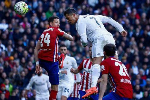Ronaldo's aerial abilities are fantastic