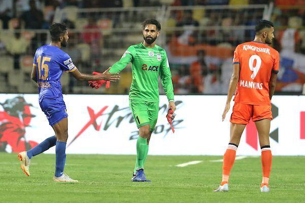 Mumbai City FC conceded five goals in their ISL encounter against FC Goa (Image: ISL)