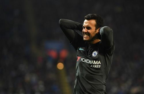 Pedro joined Chelsea in 2014