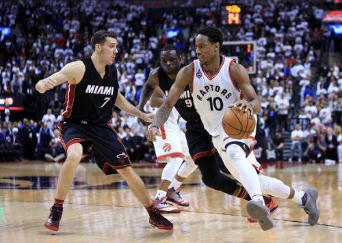 Miami Heat v Toronto Raptors - Game One