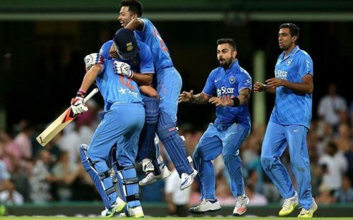 India completed a thrilling victory at Sydney and sealed a 3-0 series triumph