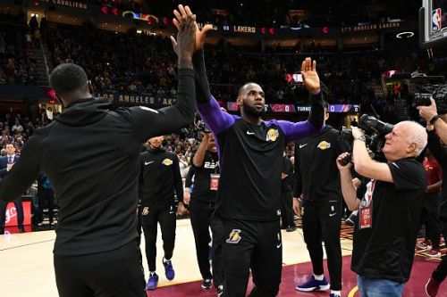 With more than a month into the NBA season, the Lakers finally seem to have found their footing