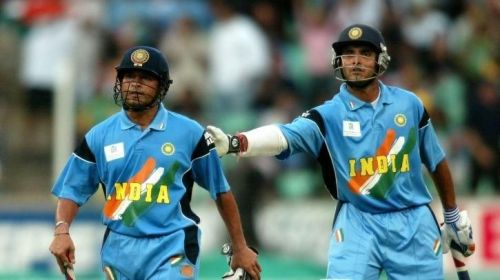 Sachin Tendulkar and Sourav Ganguly, two of the greatest ODI cricketers of all-time