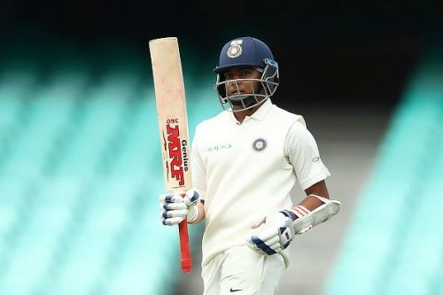 Before getting injured Prithvi Shaw had scored a dominant 50 in the practice game