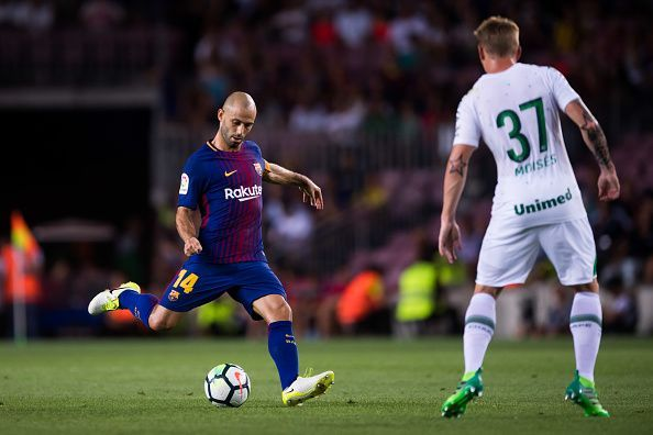 Despite his height, Mascherano succeeded at centre back for Barcelona